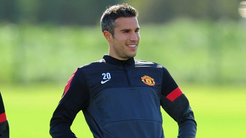 Robin van Persie didn't start at the weekend
