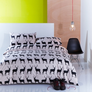 These animal silhouette motifs include 'Kissing Horses', 'Kissing Rabbits', 'Kissing Robins', and 'Kissing Stags'.