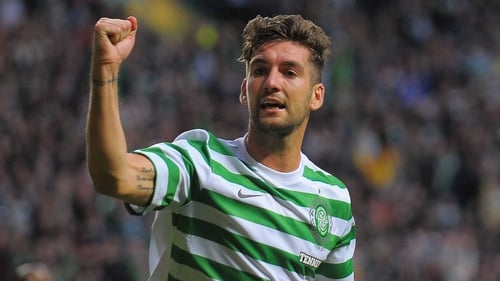 Charlie Mulgrew made the game safe for Celtic in the 77th minute
