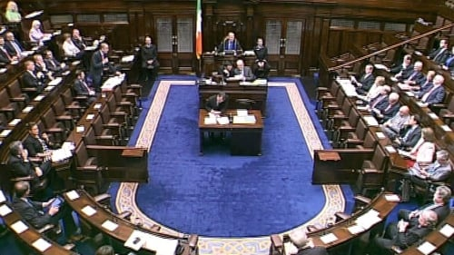Opposition TDs criticised the garda station closures saying they would increase fear of crime in rural areas