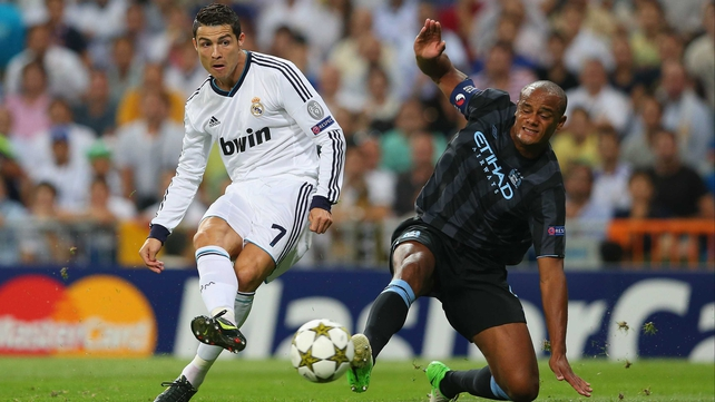 Cristiano Ronaldo got the winner in the 90th minute