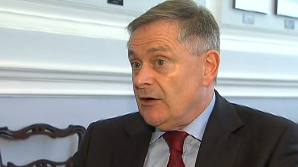 Brendan Howlin acknowledged that the agreement is under enormous pressure