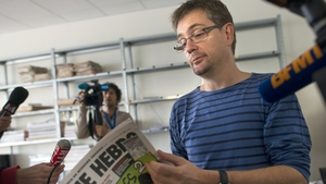French satirical weekly Charlie Hebdo's publisher, known only as Charb