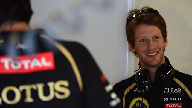 Romain Grosjean will be partnered by Pastor Maldonado in 2014