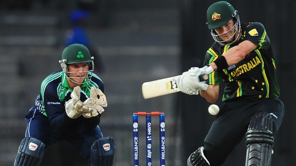 Shane Watson put in a man of the match performance as Australia eased to victory over Ireland in Sri Lanka