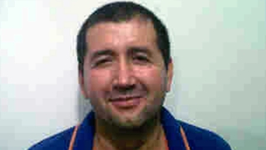 Handout picture released by Colombian Police, showing Colombian drug lord Daniel Barrera Barrera, aka 'El Loco Barrera'