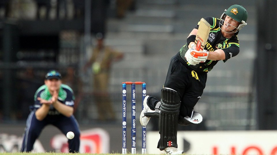 David Warner proved that he is a class act opening the batting for Australia