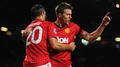United leave Carrick, Giggs & Scholes behind
