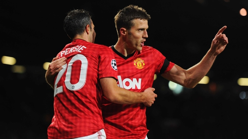 Michael Carrick scored last time out against Galatasaray