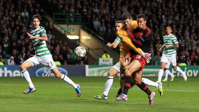 Celtic had to settle for a home point at Parkhead