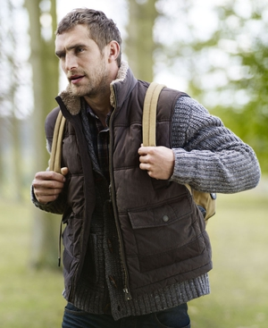 An example of a gilet from Marks & Spencer, in store now!