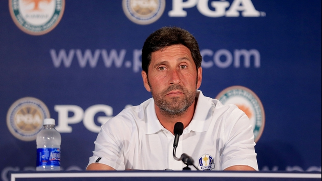 Olazabal captained Europe to a remarkable Ryder Cup victory in Chicago last year