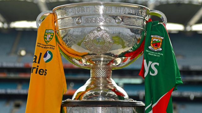 The Sam Maguire Cup is up for grabs on Sunday
