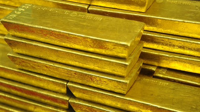 The stash included six 1kg gold bars