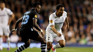 Aaron Lennon (r) was one of the Tottenham players alleged targeted