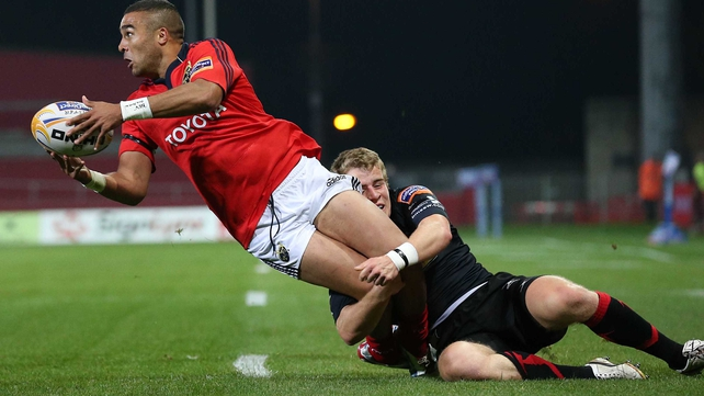 Simon Zebo will make his first start for Munster since 20 January