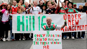 Mayo fans were in good form before the big match