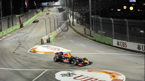 Sebastian Vettel's win in Singapore ended the world champion's longest losing run since joining Red Bull in 2009