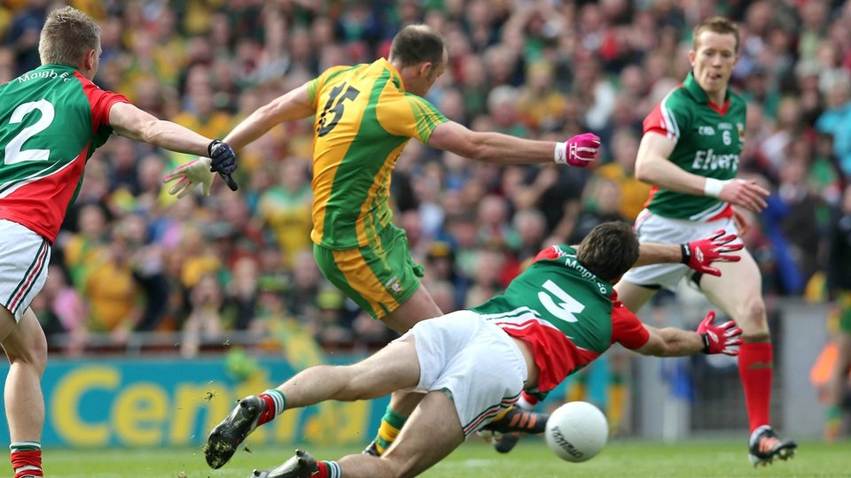 It got even better for the Ulster champions when Colm McFadden buried their second goal