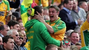 Much to the delight of these two Donegal lads