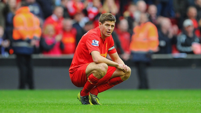 "Steven Gerrard: ""Not many sides will be able to live with us because we played some good stuff yesterday."""