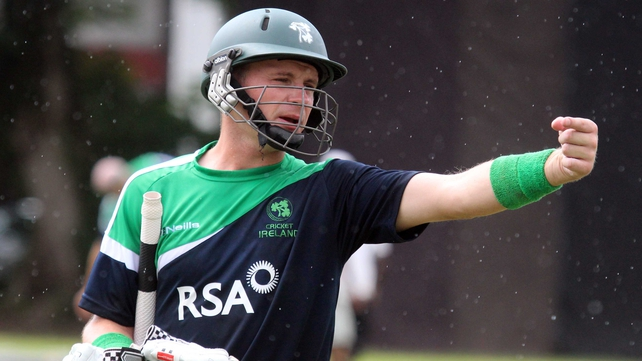 Ireland captain William Porterfield will get on his bike to help wicketkeeper Gary Wilson on his charity cycle