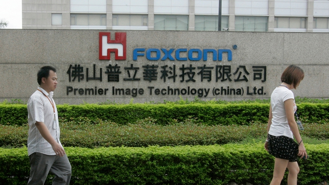 Foxconn facing rising costs and labour unrest in China