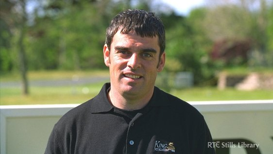 Irish professional golfer Paul McGinley (1996)