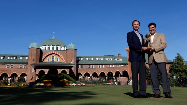The partisan Medinah crowd will be a challenge for the European Team to overcome