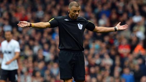 Mark Halsey will referee in League One this weekend