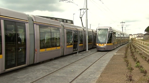 Man was struck on Luas tracks between the Citywest and Cheeverstown stops