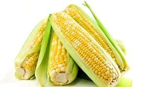 Fresh Irish corn