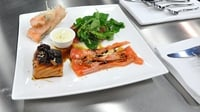 Asian Salmon Salad - A wonderful dish from MasterChef Ireland 2012