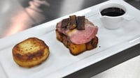Roast Duck, spicy squash and fondant potato - A delicious main from MasterChef Ireland 2012