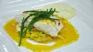 Pan Fried Fillet of Turbot with Truffled Celeriac Puree