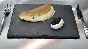 Smoked Salmon Crepe Soufflé: MasterChef