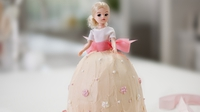 Princess Cake - Perfect for little girls' birthday parties, from Rachel's newest series 'Cake Diaries'