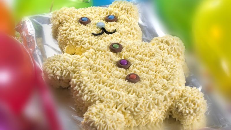 Teddy Bear Cake Rachel Allen