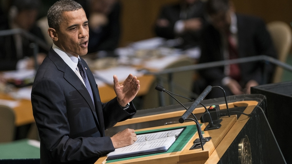 Barack Obama said that Bashar al-Assad should step down as Syria's president