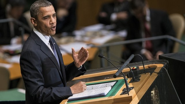 Barack Obama said that Bashar al-Assad should step down as Syria's president