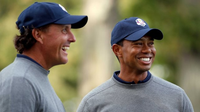 Tiger Woods is hoping to improve his US Ryder Cup record this weekend