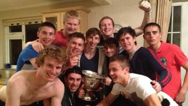 Daniel Radcliffe and Dublin Minor Team