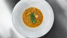 Seafood tagliatelle with Dublin bay prawn bisque
