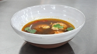 Thai soup with prawns - From episode three of MasterChef Ireland 2012