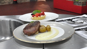 Lamb with fennel Puree and Fennel Confit: MasterChef