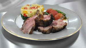 Moroccan slow-cooked lamb with cous cous: MasterChef
