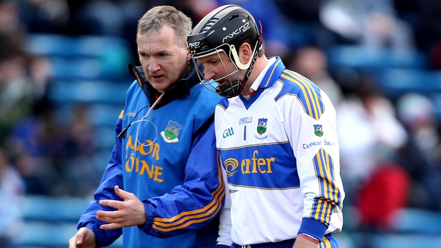 Brendan Cummins (r) said that while Tipperary would be pleased with their recent victories, there was plenty for Eamon O'Shea (l) to work on