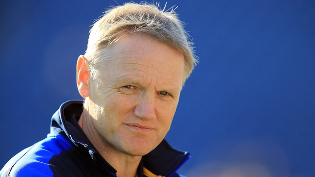Joe Schmidt: 'I'm lucky to be part of such a positive coaching team'