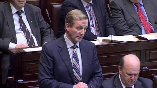 Enda Kenny says it is a difficult choice for anybody to resign as a minister of state