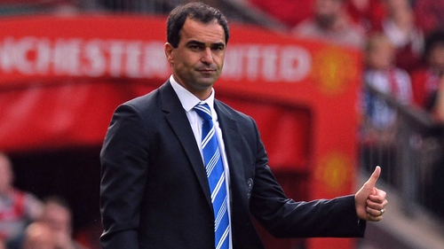 Roberto Martinez is set to start his reign as Everton manager